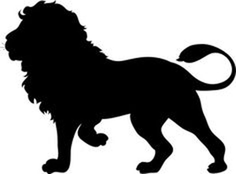 "Lion King Window Sticker Decal 6""h"